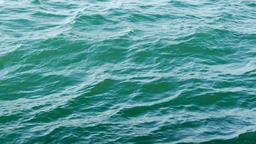 Deep of ocean. Ocean waves. Water surface Footage