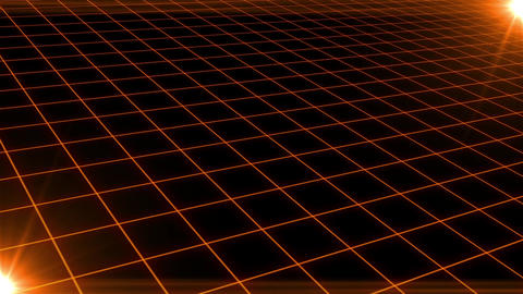 Grid CG Orange CG動画