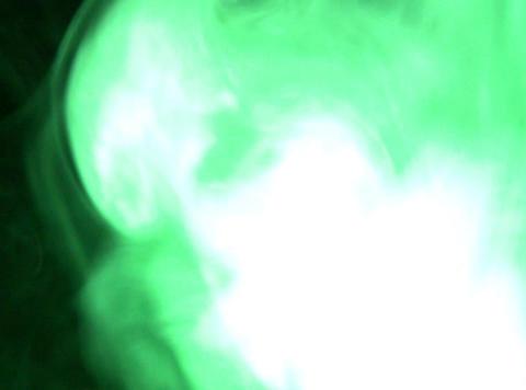 Green Smoke 2 Stock Video Footage
