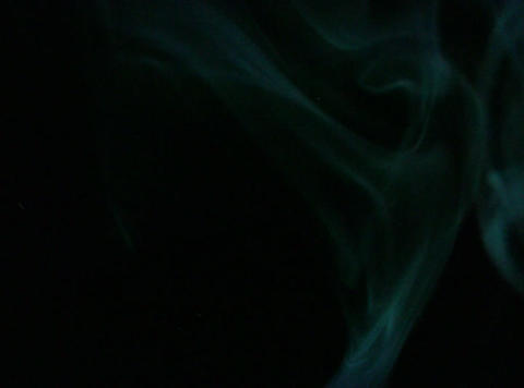 Turquoise Smoke 1 Stock Video Footage