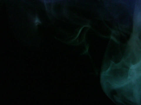 Turquoise Smoke 3 Stock Video Footage
