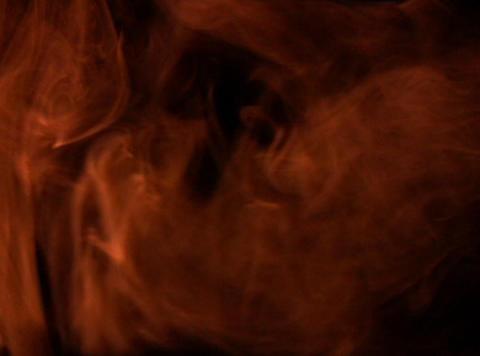 Orange Smoke 1 Stock Video Footage