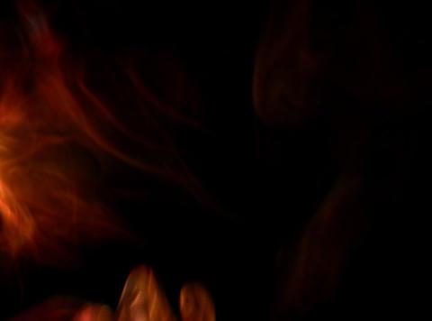 Orange Smoke 5 Stock Video Footage
