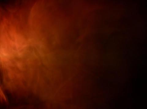 Orange Smoke 5 Footage