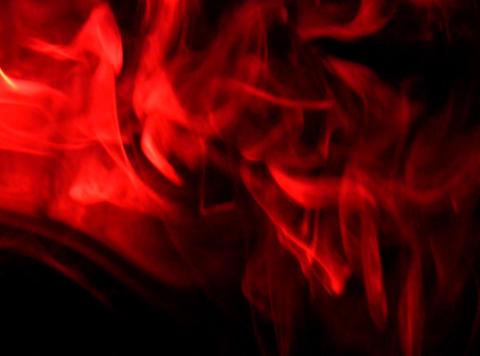 Red Smoke 1 Stock Video Footage
