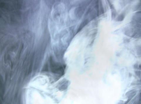 White Smoke 7 Stock Video Footage