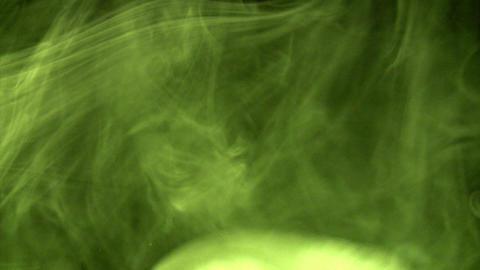 Yellow Smoke 3 Stock Video Footage