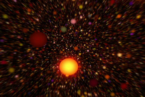 3D Molecule Atom Stock Video Footage