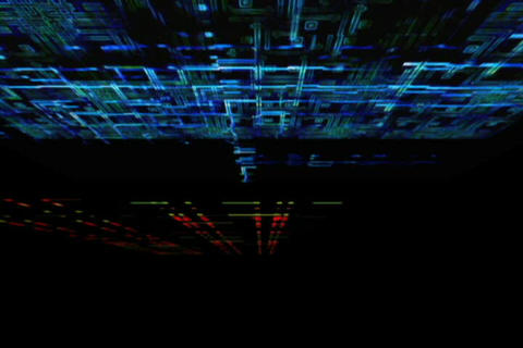 Blue Circuit Animation Animation