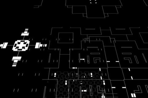 Circuit Floating Animation Stock Video Footage
