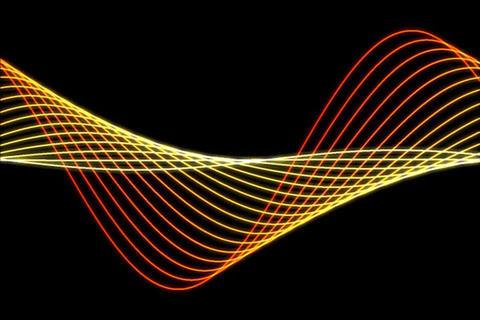 Waterflow Harmonizer Animation Stock Video Footage