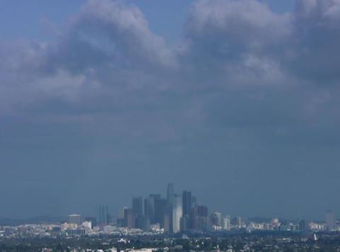 DV Downtown LA 60sec Stock Video Footage