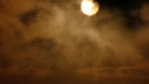 gothic sunset sepia Stock Video Footage
