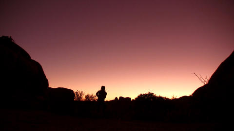 Sunset Stuff HD 02 20sec Stock Video Footage