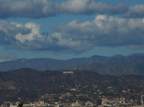 HollywoodSign 01 60sec Footage