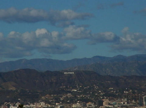 HollywoodSign 01 60sec Stock Video Footage