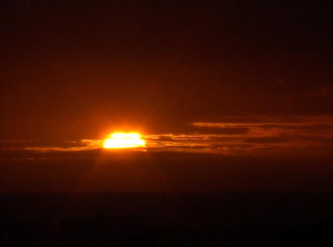 Time lapse Sunset 03 30sec remap miss Stock Video Footage
