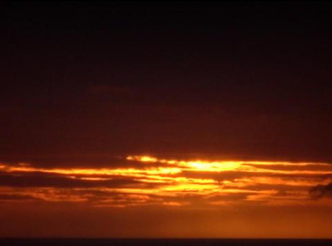 Time lapse Sunset 04 30sec Footage