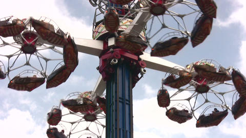 carousel Stock Video Footage