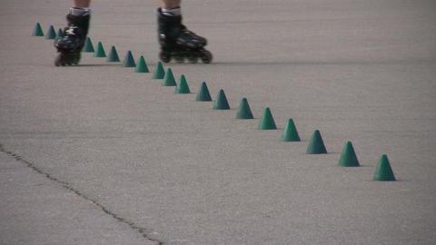 rollerblade Stock Video Footage