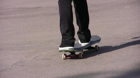 skateboard Stock Video Footage