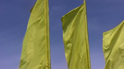 flag sky wind Stock Video Footage