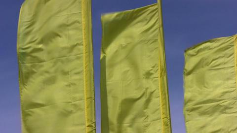flag sky wind Footage