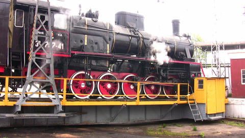 old train Stock Video Footage
