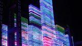Night Neon Light 2 stock footage