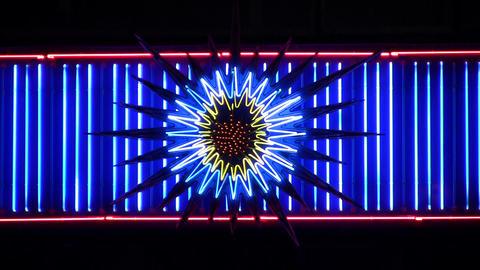 night neon light 5 Stock Video Footage