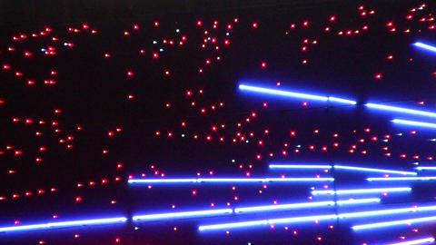 night neon light 6 Stock Video Footage