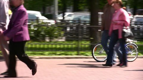 child bicycle Stock Video Footage