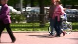 Child Bicycle stock footage