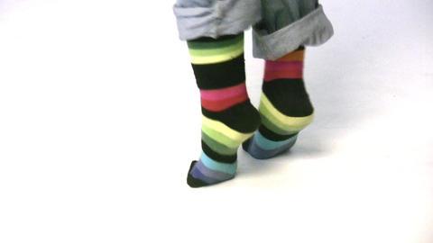 dance legs Footage