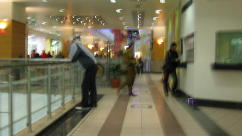 abstract shop timelapse. No identifiable faces, logos Stock Video Footage