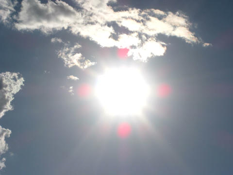 sun time lapse Stock Video Footage