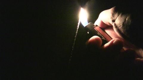 fire sparkler Footage
