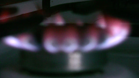 gas flame Stock Video Footage