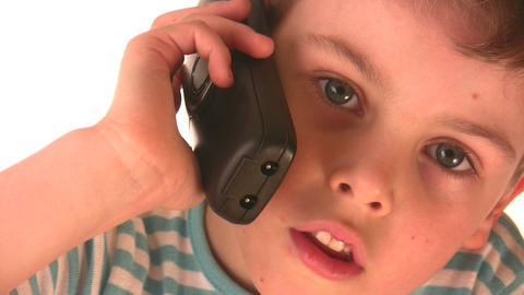 child phone Stock Video Footage