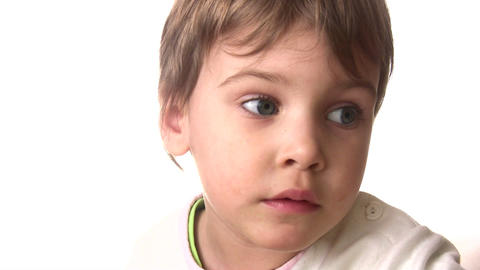 baby see hear listen Stock Video Footage