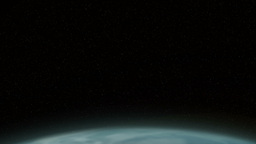 Earth Eclipse Stock Video Footage