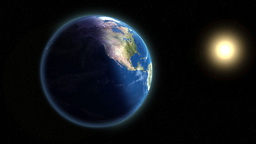 Earth & Sun Animation