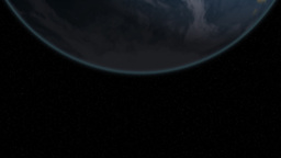 Earth and Moon 2 Animation