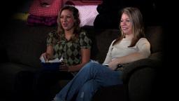 Lesbians hangout Stock Video Footage