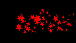 Red Constellation Of Stars Animation Stock Video Footage