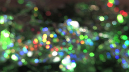Beautiful Green And Rainbow Sparkles Video Background Stock Video Footage