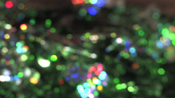Beautiful Green And Rainbow Sparkles Video Background Footage