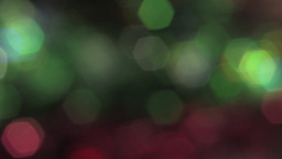 Beautiful Green and Red Sparkles Video Background Stock Video Footage