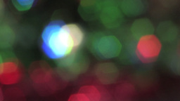 Beautiful Green and Red Sparkles Video Background Footage