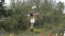 Christ crucified Footage